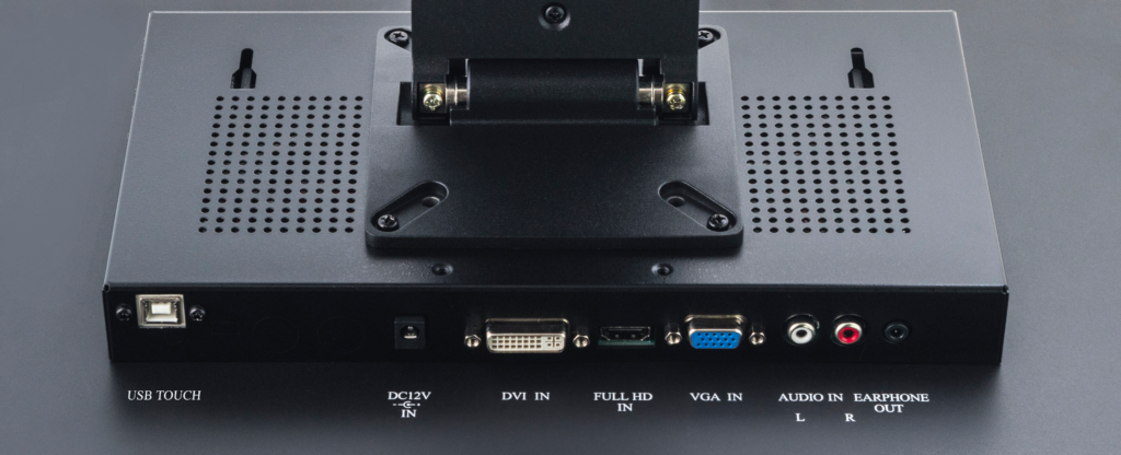 19 Inch Multi-Touch PCAP Touch Screen Monitor Inputs